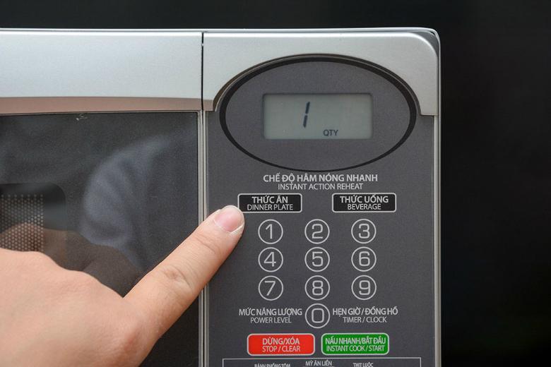 Bảng điều khiển điện tử có tiếng Việt dễ dàng sử dụng
