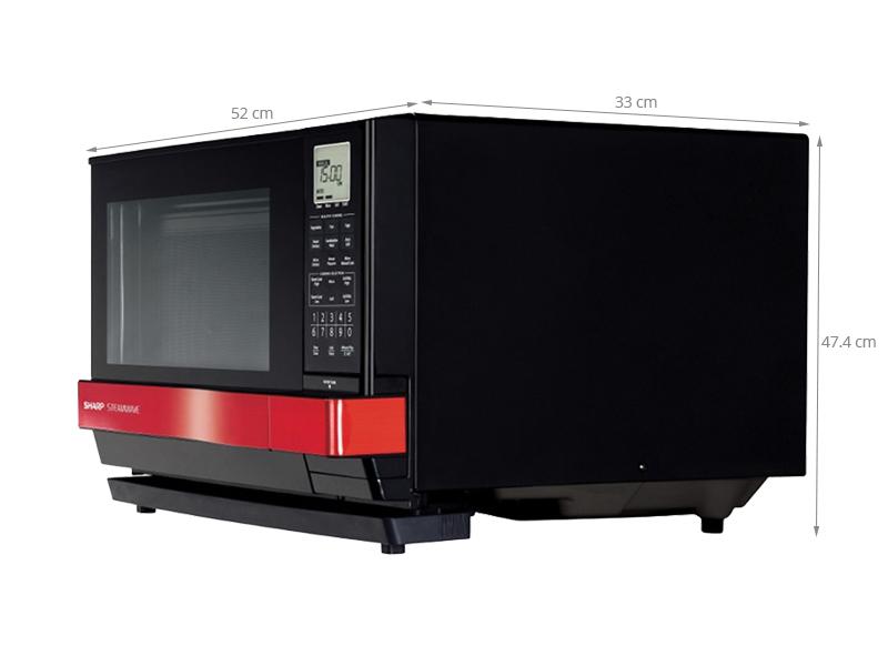 Thông số kỹ thuật Lò vi sóng Sharp AX-1100VN(/SR) - 27 lít