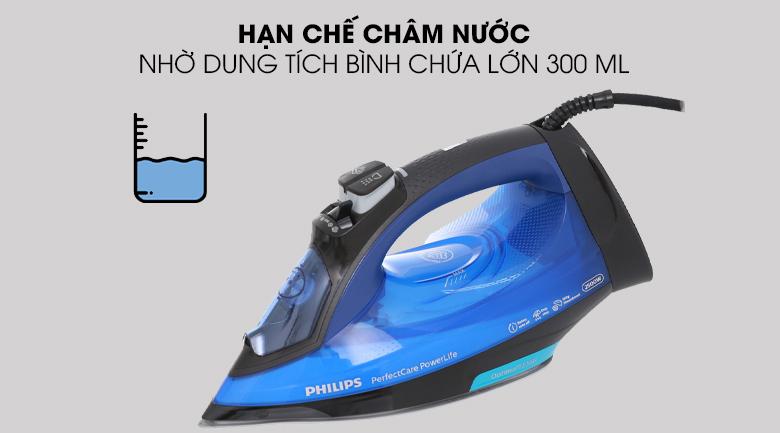 dung tích - Bàn ủi hơi nước Philips GC3920