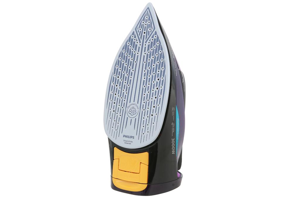 Bàn ủi hơi nước Philips GC5039 - Mặt đế có phủ lớp SteamGlide Advanced chống trầy