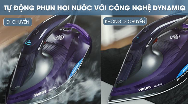 Tự động phun nước - Bàn ủi hơi nước Philips GC5039