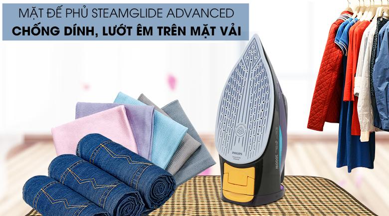 Mặt đế Steamglide - Bàn ủi hơi nước Philips GC5039