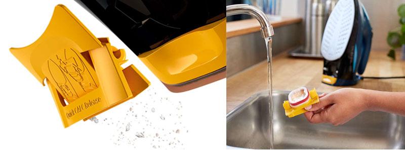 Tự động xả cặn, chống vôi hoá - Bàn ủi hơi nước Philips GC4938