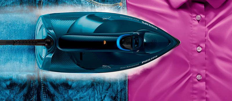 Công suất mạnh mẽ - Bàn ủi hơi nước Philips GC4938