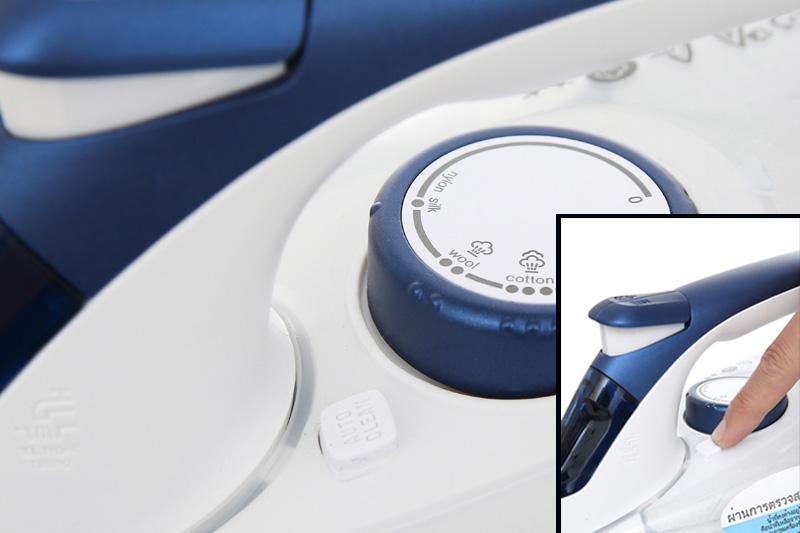 Tự làm sạch - Bàn ủi hơi nước Electrolux ESI6123