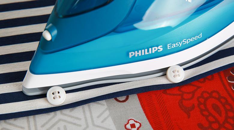 Rãnh cúc - Bàn ủi hơi nước Philips GC1756