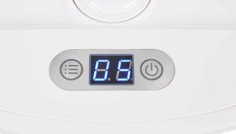 Màn hình hiển thị chức năng đơn giản dễ dùng - Bàn ủi hơi nước đứng Kangaroo KG-75B8