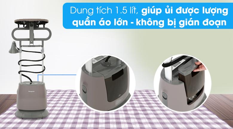 Dung tích - Bàn ủi hơi nước đứng Kangaroo KG-75B11