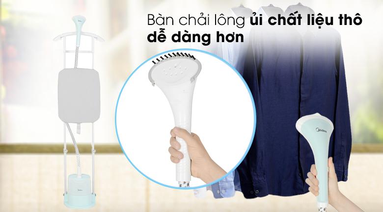 Lược chải - Bàn ủi hơi nước đứng Midea MHI-G20R1 Xanh