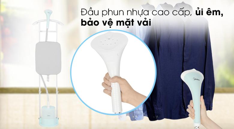 Ủi an toàn - Bàn ủi hơi nước đứng Midea MHI-G20R1 Xanh