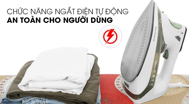 Ngắt điện tự động Bàn ủi hơi nước Bluestone SIB-3879