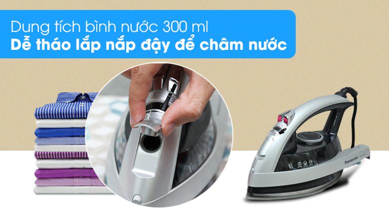 Dung tích - Bàn ủi hơi nước Panasonic NI-W650CSLRA