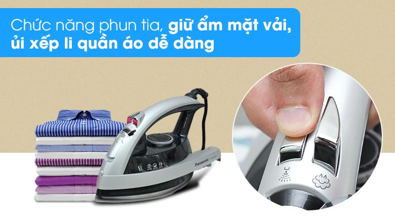 Phun tia - Bàn ủi hơi nước Panasonic NI-W650CSLRA
