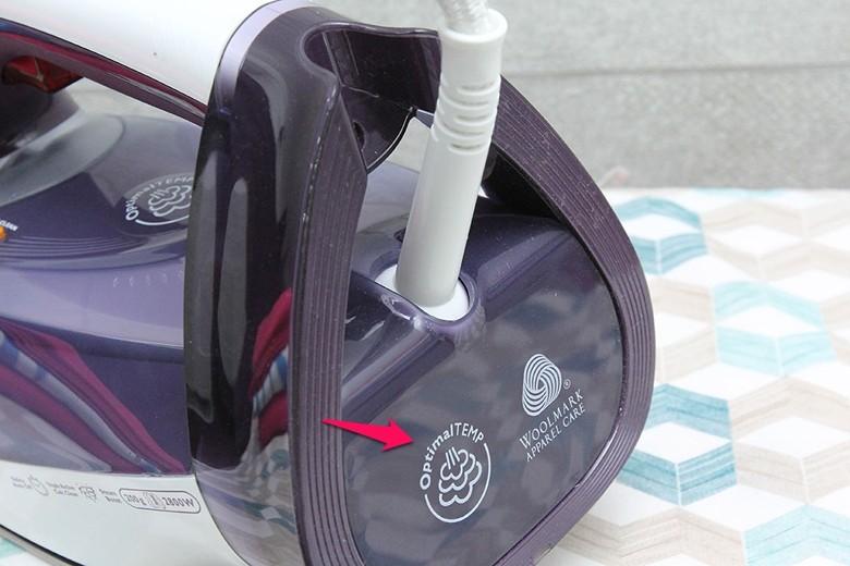 Chức năng OptimalTemp điều chỉnh nhiệt độ phù hợp cho từng loại vải