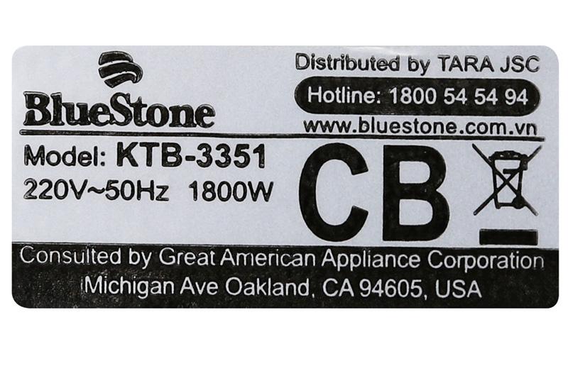 Bình đun siêu tốc BlueStone KTB-3351-3