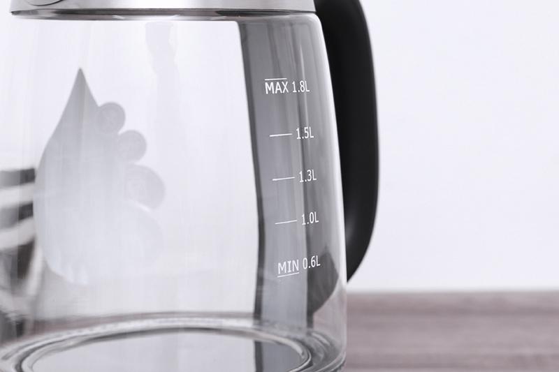 Thang hiển thị mực nước - Bình đun siêu tốc Midea MK-18GD