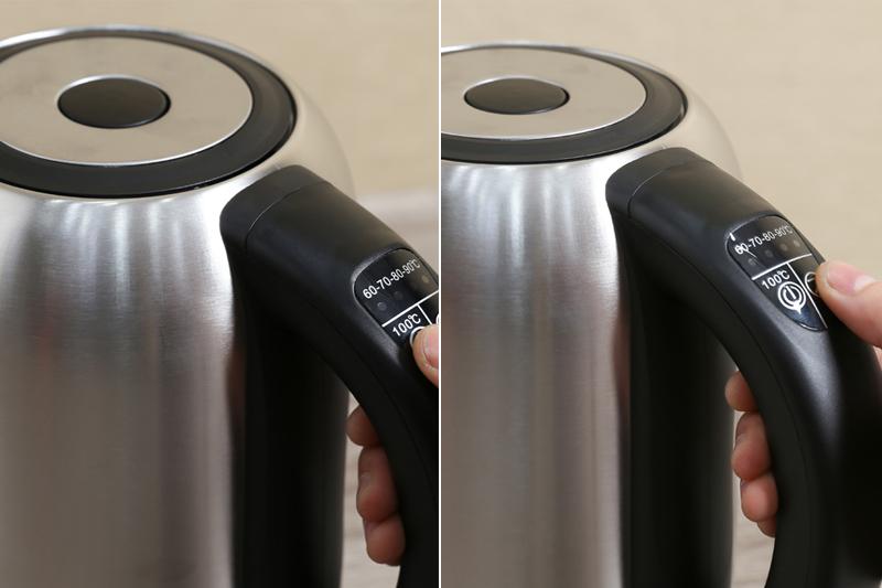 Chỉnh nhiệt độ nước - Bình siêu tốc Happycook 1.7 lít HEK-171SD