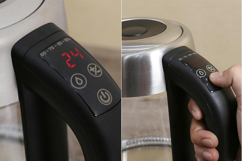Hiện đại, tiện dụng - Bình siêu tốc Happycook 1.7 lít HEK-170GD
