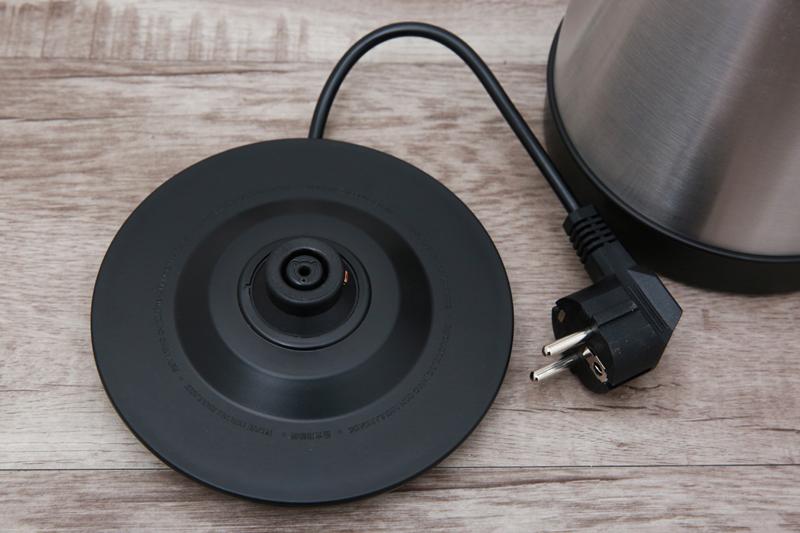 Đế xoay 360 độ - Bình đun siêu tốc Philips HD9350