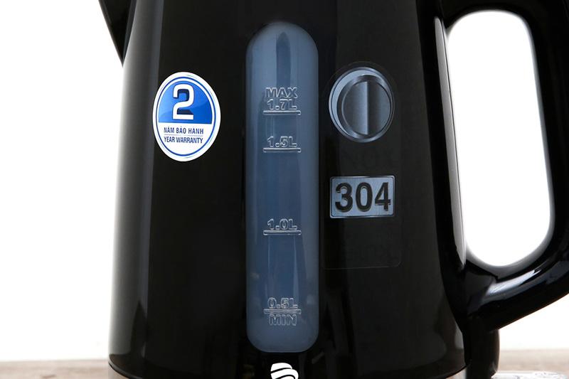 Thang hiển thị mực nước - Bình đun siêu tốc Bluestone KTB-3417