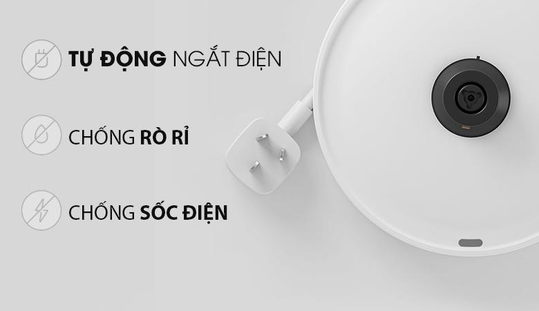 Đế tiếp điện STRIX Thermostat từ Anh Quốc sử dụng ổn định - Bình siêu tốc Xiaomi SKV4035GL