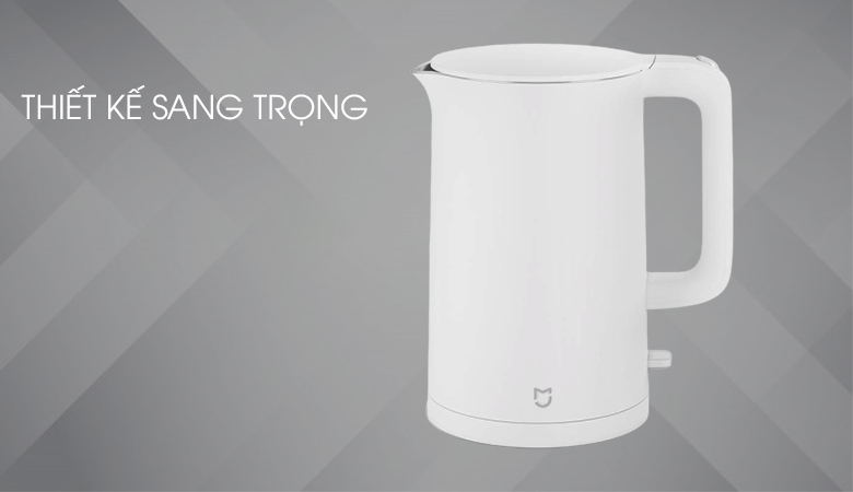 Màu trắng sáng tự nhiên, sang trọng, dung tích 1.5 lít - Bình siêu tốc Xiaomi SKV4035GL
