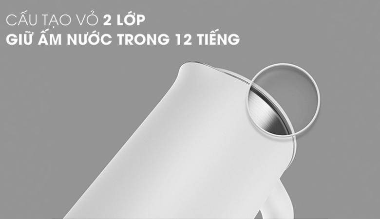 Chất liệu ruột bình bằng inox cao cấp SUS 304 - Bình siêu tốc Xiaomi SKV4035GL