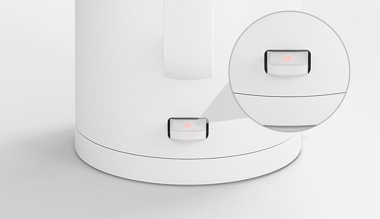Đèn hoạt động LED trên công tắc - Bình siêu tốc Xiaomi SKV4035GL