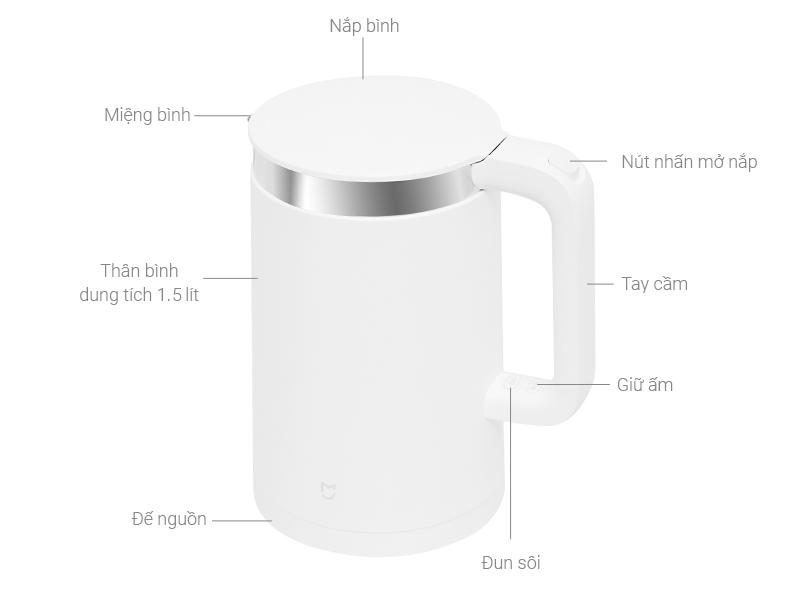 Thông số kỹ thuật Bình siêu tốc Xiaomi ZHF4012GL