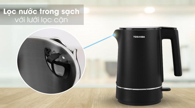 Bình đun siêu tốc Toshiba 1.5 lít KT-15DS1NV - Lưới lọc cặn
