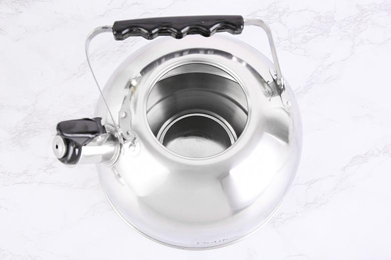 Chất liệu ấm đun nước inox Delites BR001 4 lít