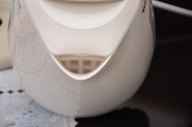 Lước lọc cặn đan khít giúp lọc chất cặn trong nước hiệu quả