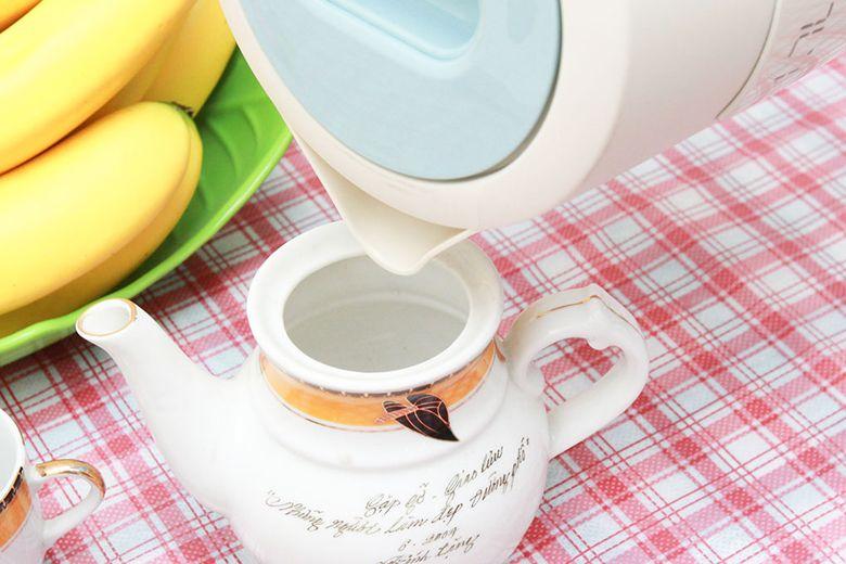 Nấu nước nhanh sôi để châm trà, pha cà phê