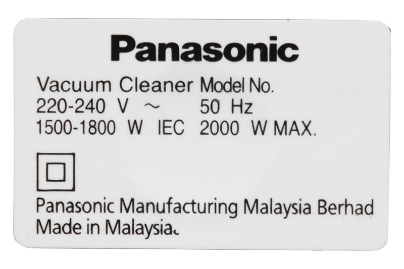 Công suất 2000 W, hút bụi nhanh chóng - Máy hút bụi Panasonic MC-CL565KN46 2000W