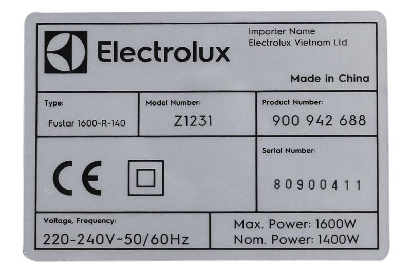 Máy hút bụi Electrolux Z1231-2