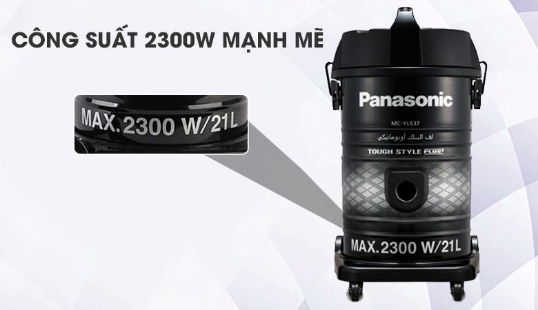 Máy hút công nghiệp sang đẹp - Máy hút bụi công nghiệp Panasonic MC-YL637SN49 2300 W