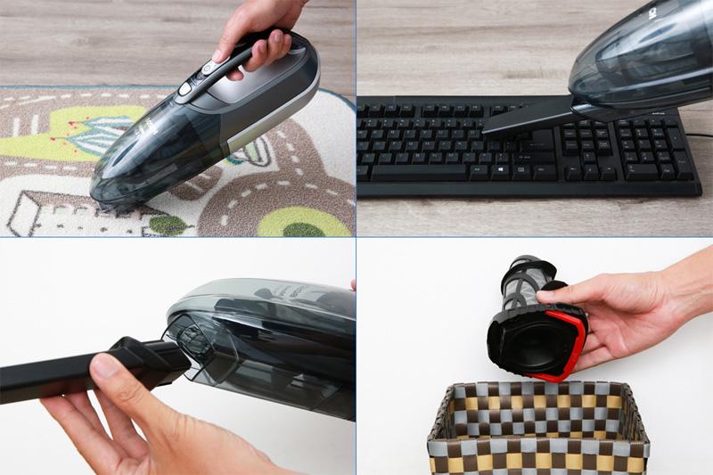 Vệ sinh tiện lợi - Máy hút bụi cầm tay Bosch HMH.BHN20110