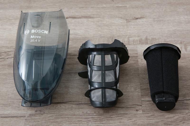 Bộ lọc có thể vệ sinh - Máy hút bụi cầm tay Bosch HMH.BHN20110