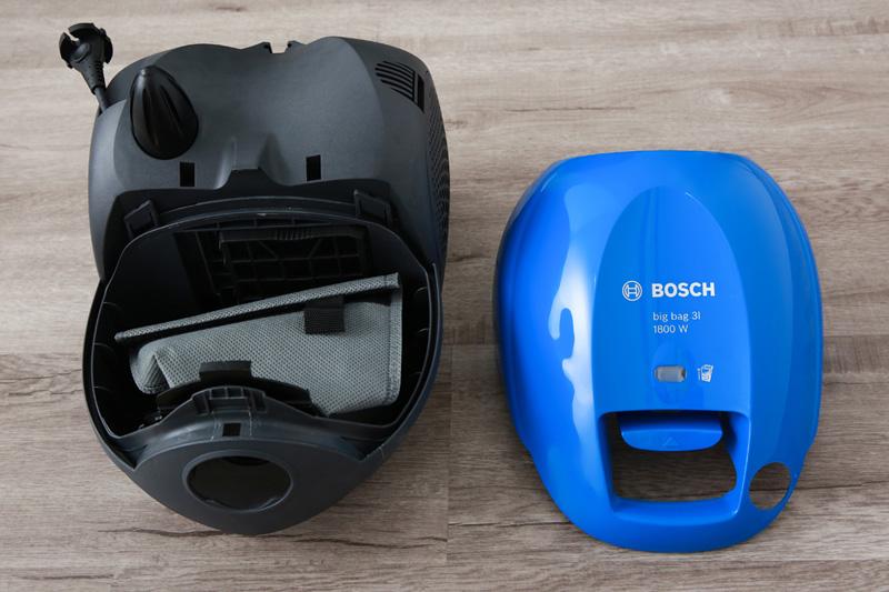 Dùng túi chứa bụi - Máy hút bụi Bosch HMH.BSM1805RU 1800W