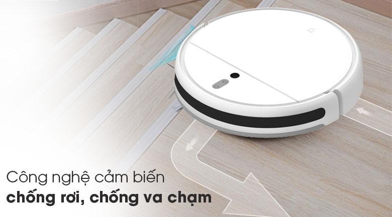 Cảm biến chống rơi, va chạm - Robot hút bụi Xiaomi Vacuum Mop SKV4093GL