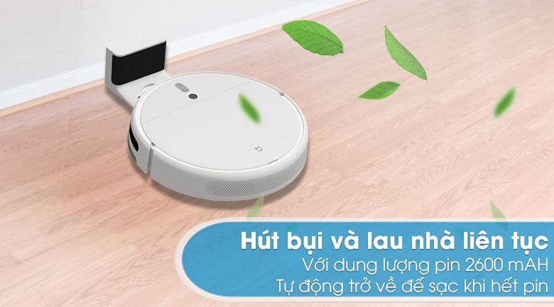 Hút bụi và lau nhà liên tục - Robot hút bụi Xiaomi Vacuum Mop SKV4093GL