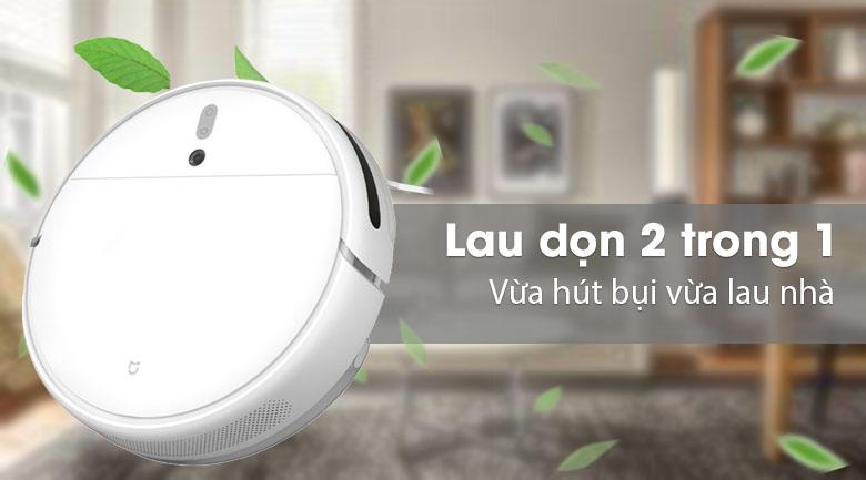 Robot hút bụi lau được nhà - Robot hút bụi Xiaomi Vacuum Mop SKV4093GL