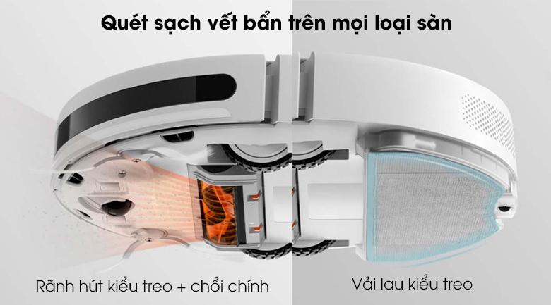 Robot hút bụi Xiaomi Vacuum Mop Essential SKV4136GL - Vệ sinh, lau sàn