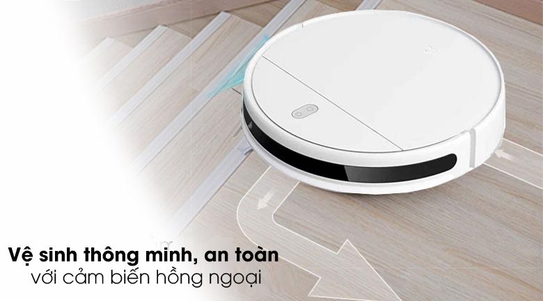 Robot hút bụi Xiaomi Vacuum Mop Essential SKV4136GL - Vệ sinh thông minh, an toàn