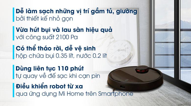 Robot hút bụi Xiaomi Vacuum Mop Pro SKV4109GL