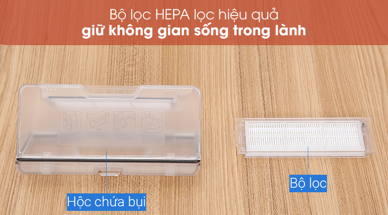 Lọc hepa - Robot hút bụi Xiaomi Vacuum Mop Pro SKV4109GL