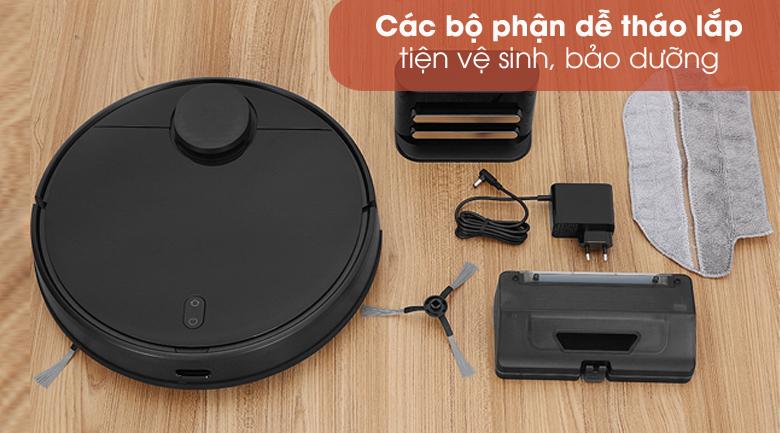 Dễ dàng vệ sinh - Robot hút bụi Xiaomi Vacuum Mop Pro SKV4109GL