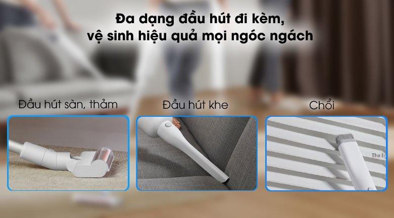 Làm sạch mọi ngóc ngách - Máy hút bụi cầm tay Xiaomi BHR4636GL