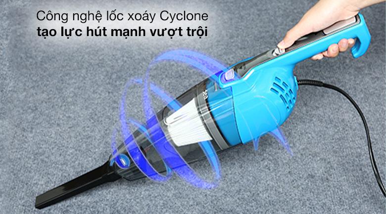 Công nghệ Cyclone - Máy hút bụi cầm tay Midea MCV-16T-B