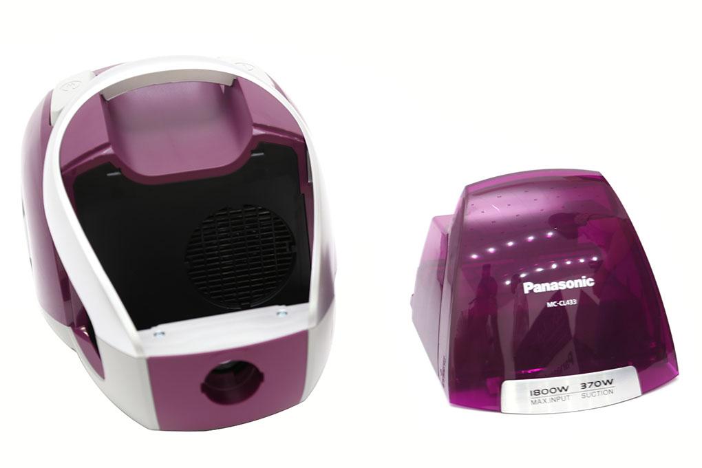 Máy Hút bụi Panasonic PAHB-MC-CL433RN46 1800W hình 2